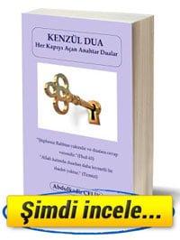 Kenzül Dua - Her Kapıyı Açan Anahtar Dualar kitabı